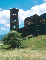Belfry in Andorra