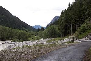 On the cycling path from San Candido/Innichen to Lienz