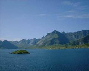Lofoten Islands in Norway, Moskenesoy