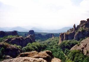 Red rocks of Belogradchik in Bulgaria
