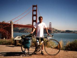 First big ride 1993. New York to San Francisco via Grand Canyon and Death Valley. 6000km in 28 days