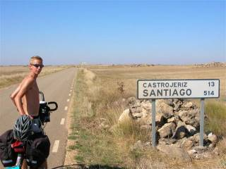 Riding the Camino Santiago