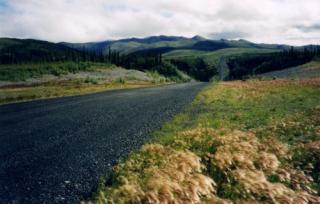 The spectacular Dempster Highway