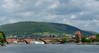 Spessart Bridge over the Main at Miltenberg