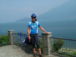 At the Lago di Como