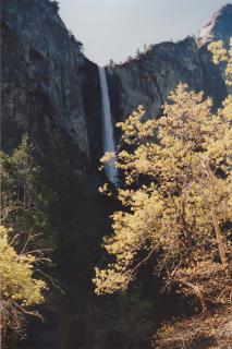 Yosemite water fall