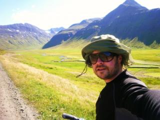 Me in the mountains in Northern Iceland