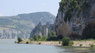 Golubac Fortress at beginig of Iron Gate of Danube