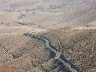 Fuerteventura winding roads