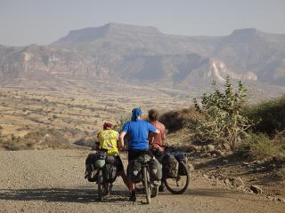 On the road in the mountainous heartland of Ethiopia